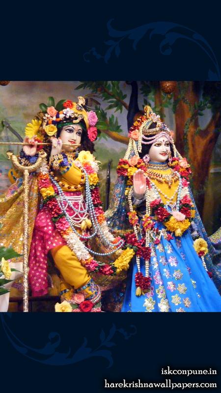 Sri Sri Radha Kunjabihari Wallpaper (001) Size 450x800 Download