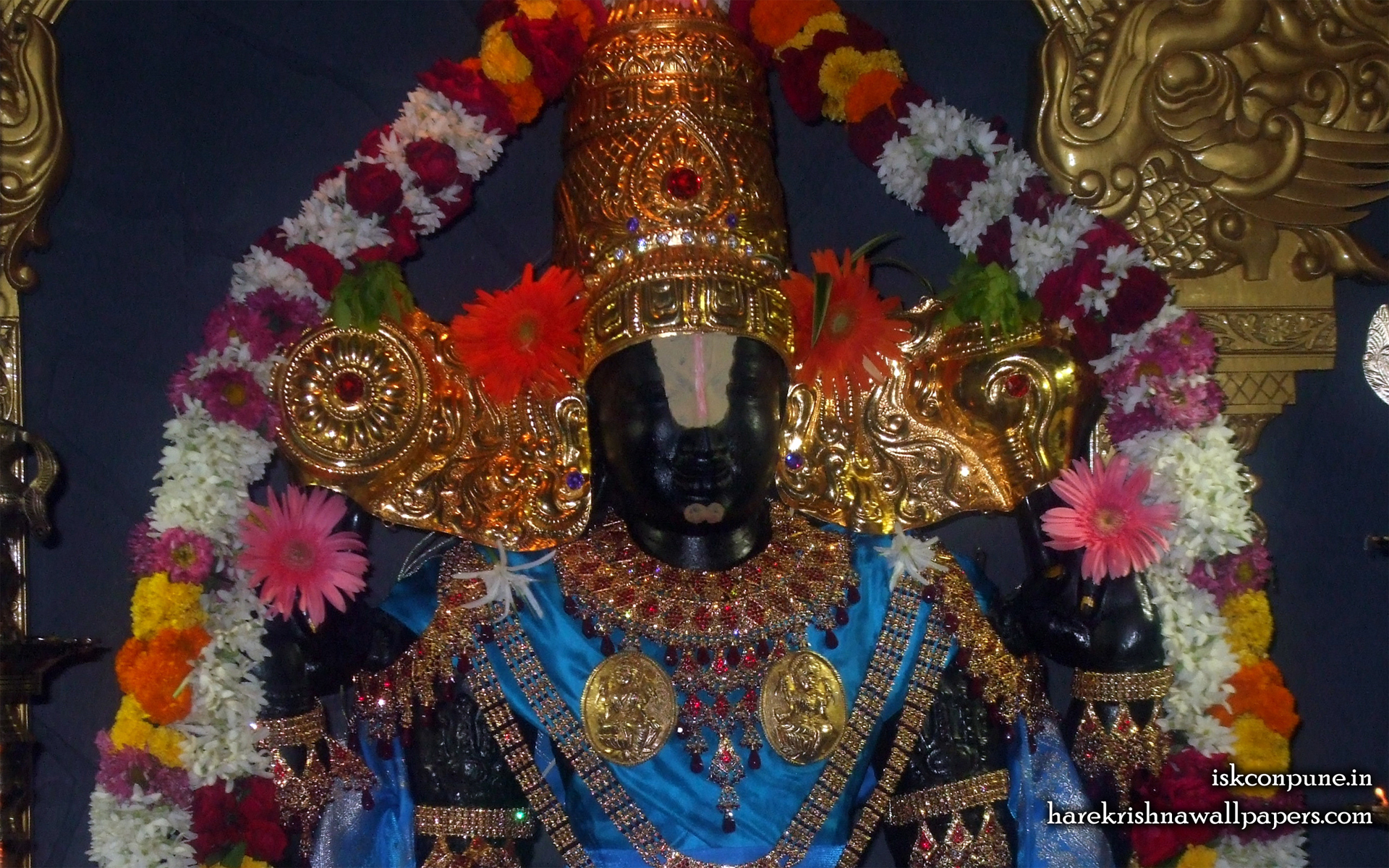Sri Balaji Close up Wallpaper (002) Size 1920x1200 Download