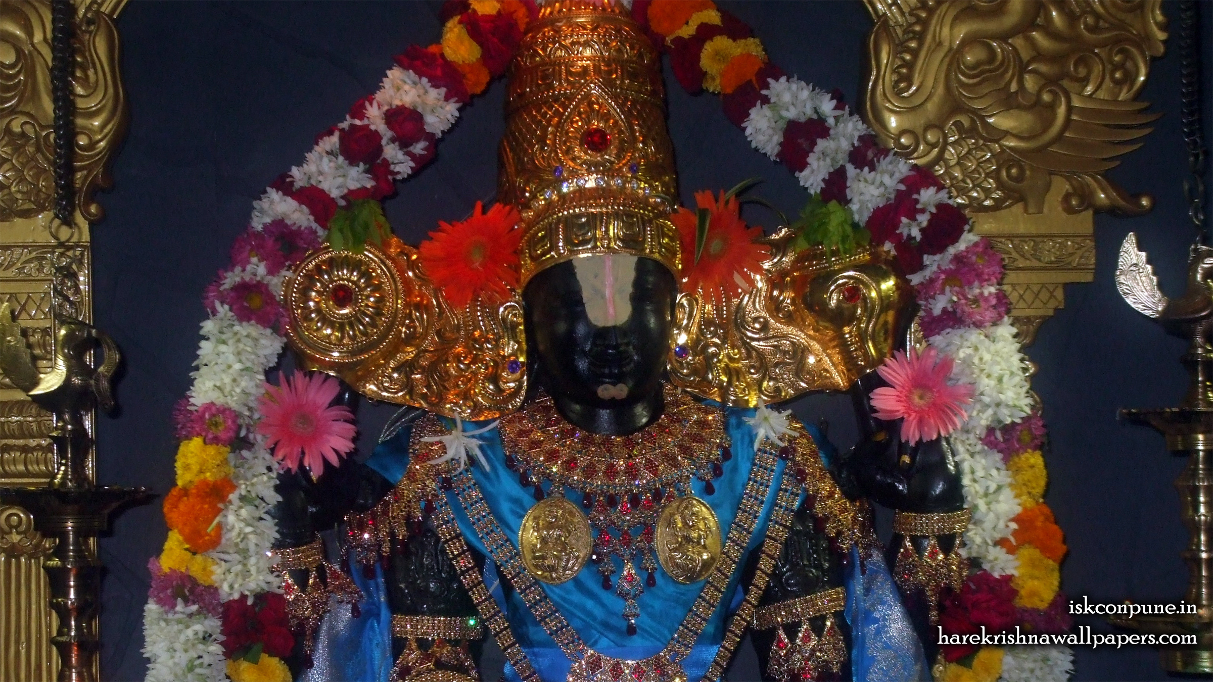 Sri Balaji Close up Wallpaper (002) Size 2400x1350 Download