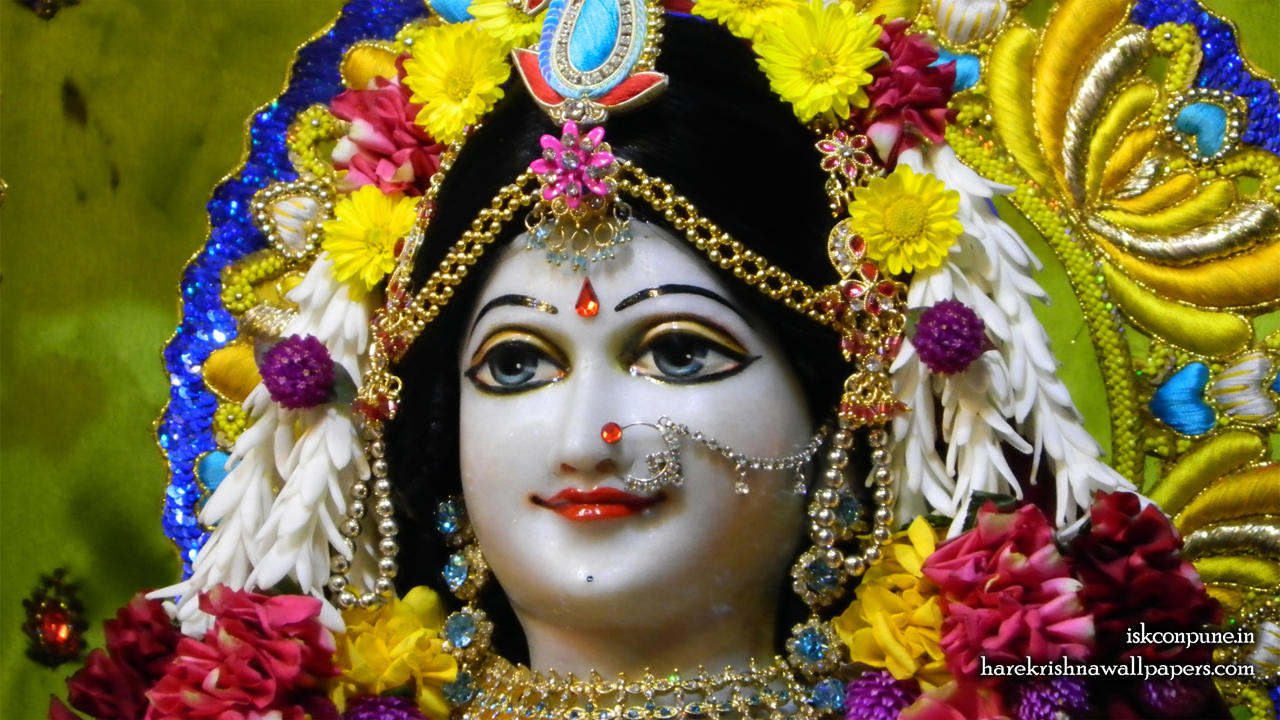 Sri Radha Close up Wallpaper (002) Size 1280x720 Download
