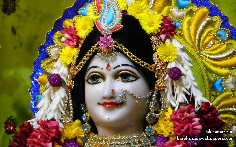 Sri Radha Close up Wallpaper (002) Size 1440x900 Download