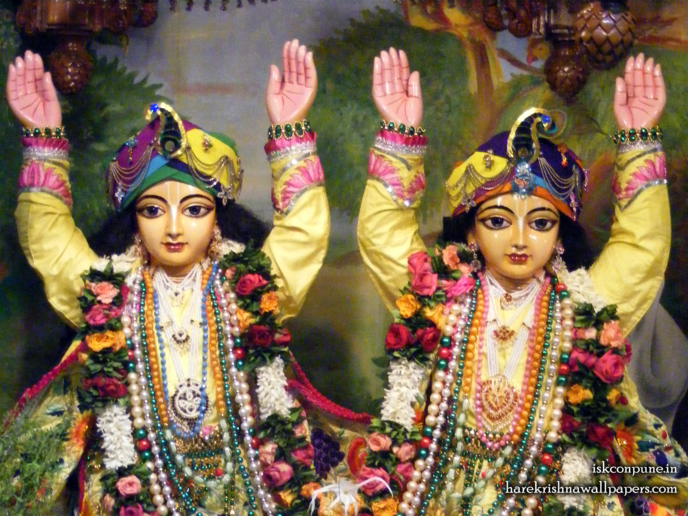 Sri Sri Gaura Nitai Close up Wallpaper (002) Size 2400x1800 Download