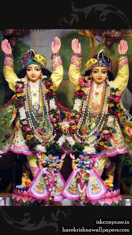 Sri Sri Gaura Nitai Close up Wallpaper (002) Size 450x800 Download