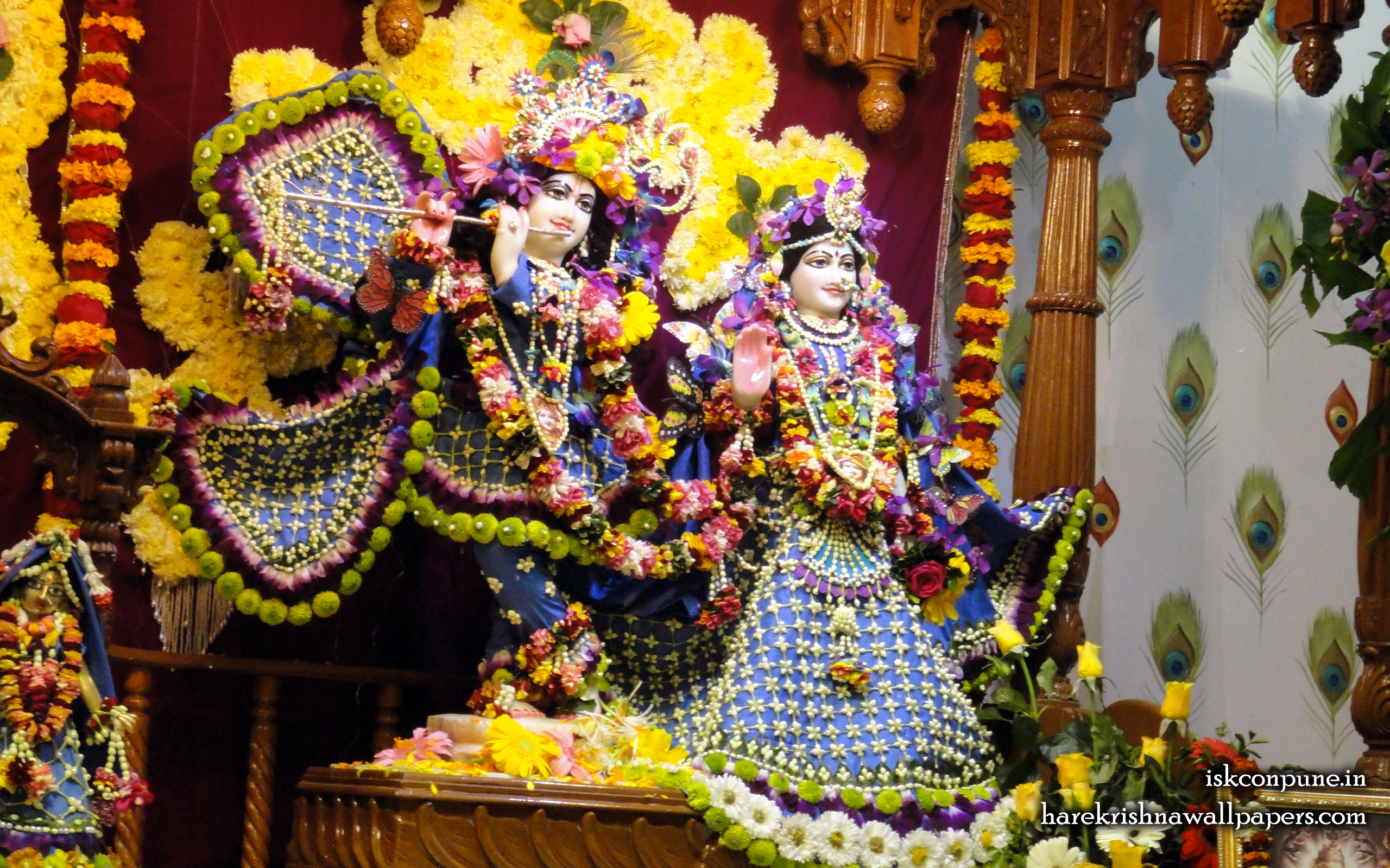 Sri Sri Radha Kunjabihari Wallpaper (002) Size 2560x1600 Download