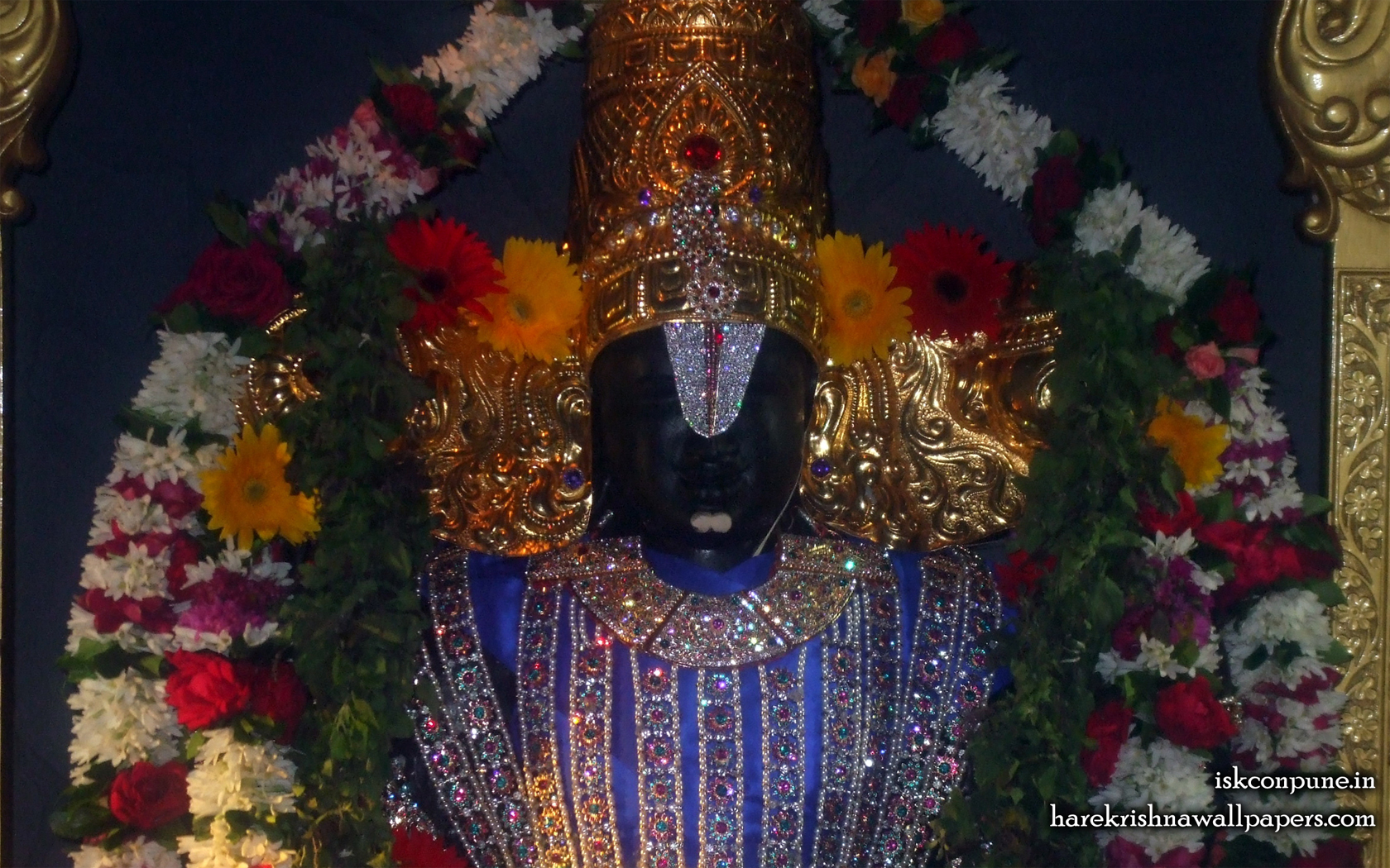 Sri Balaji Close up Wallpaper (003) Size 1680x1050 Download