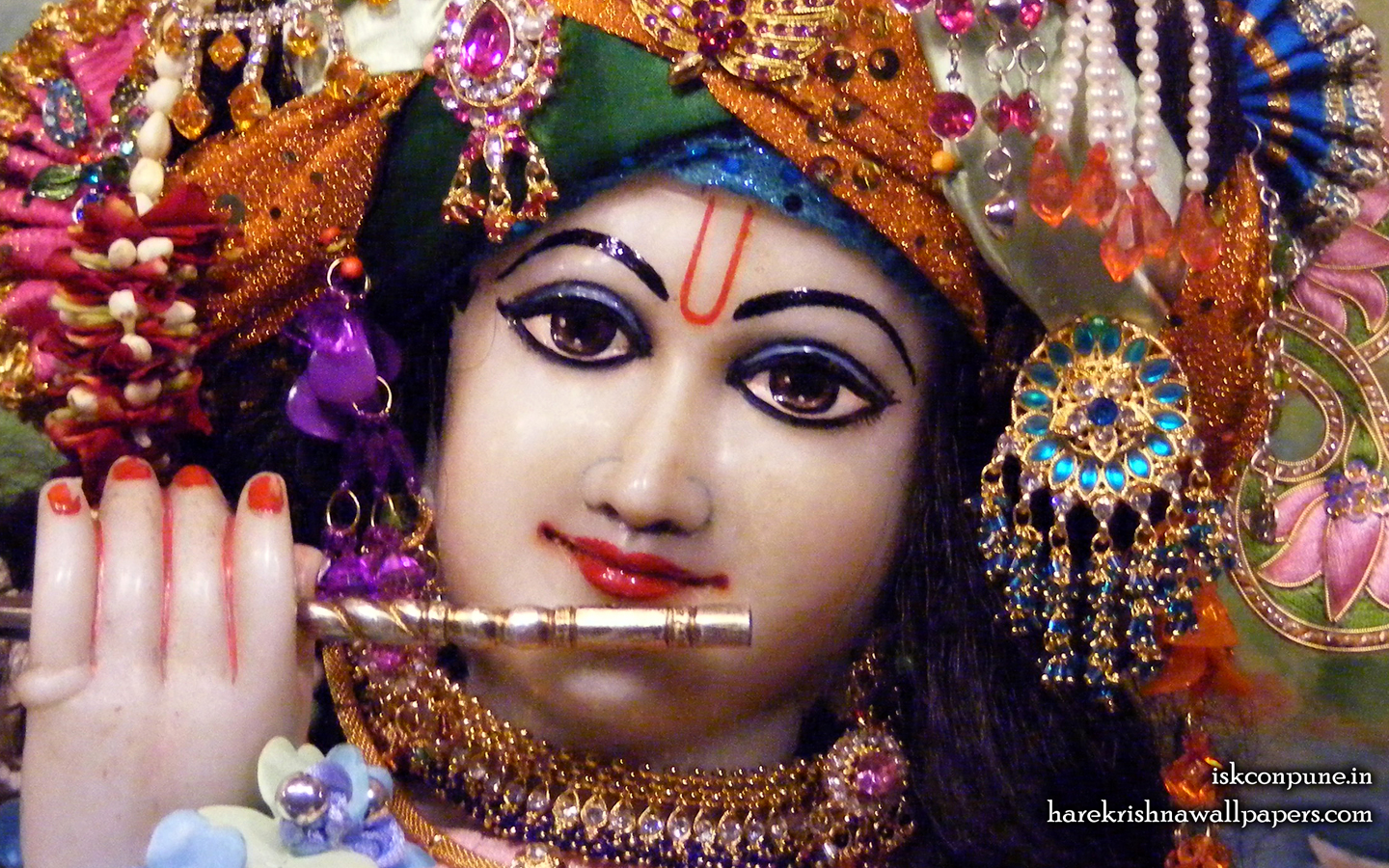 Sri Kunjabihari Close up Wallpaper (003) Size 1440x900 Download