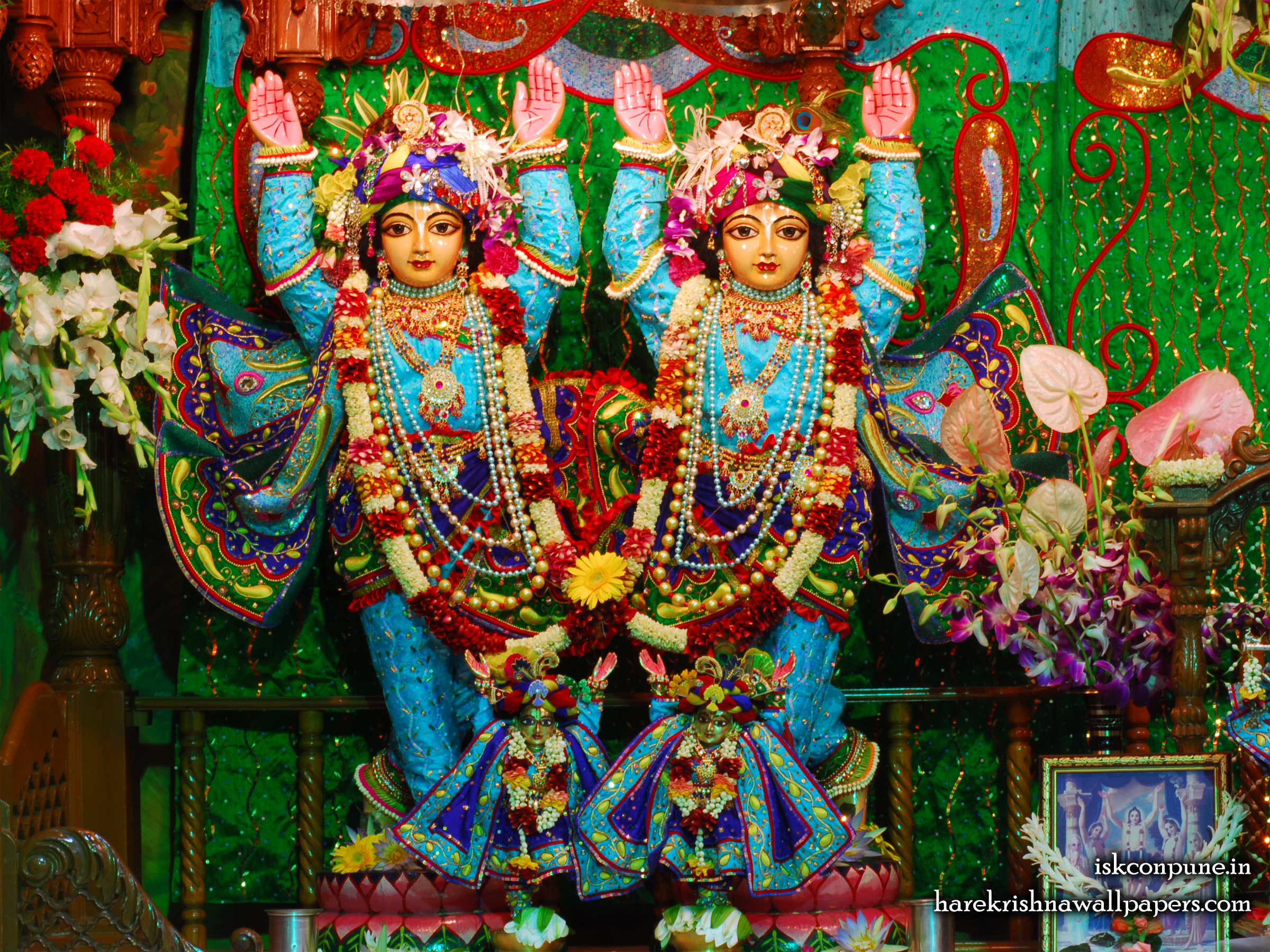 Sri Sri Gaura Nitai Wallpaper (003) Size 2400x1800 Download