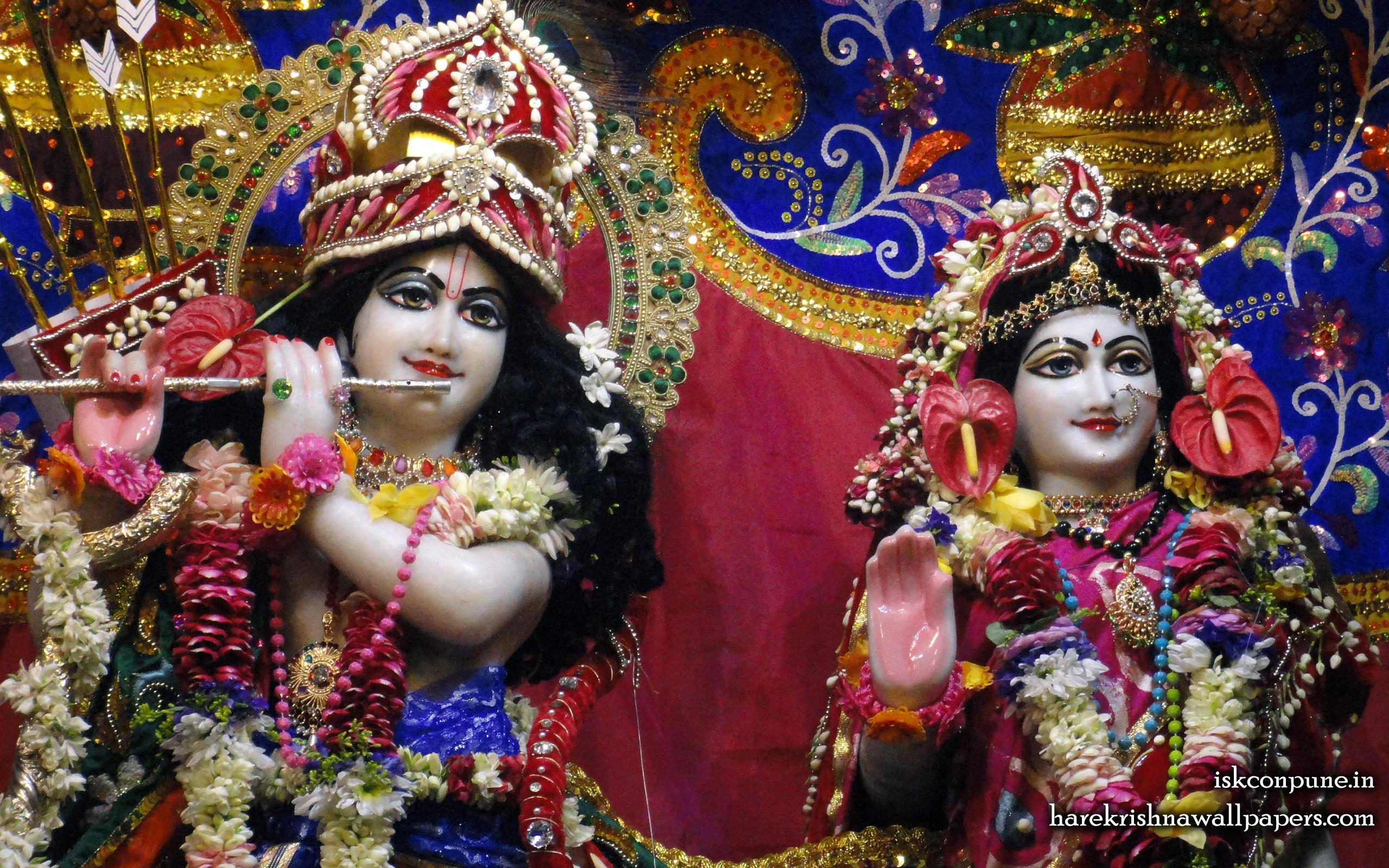 Sri Sri Radha Kunjabihari Close up Wallpaper (003) Size 2560x1600 Download