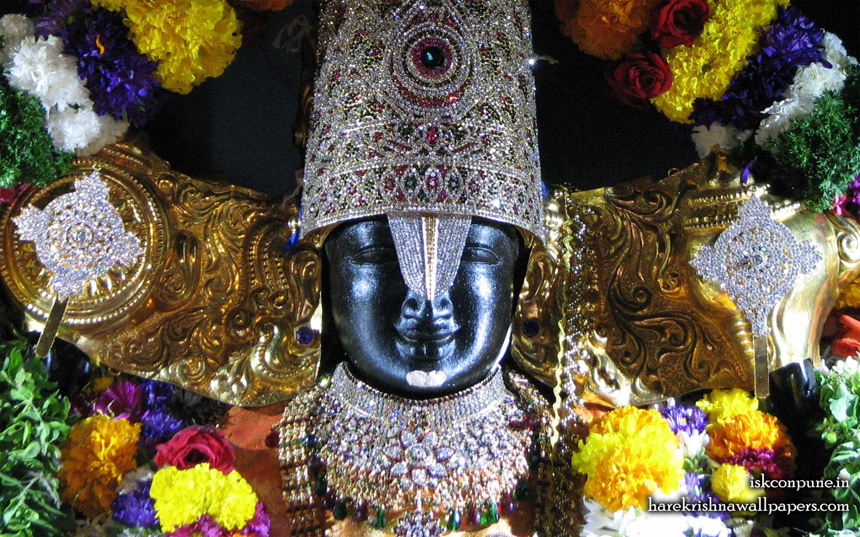 Sri Balaji Close up Wallpaper (004) Size 1680x1050 Download