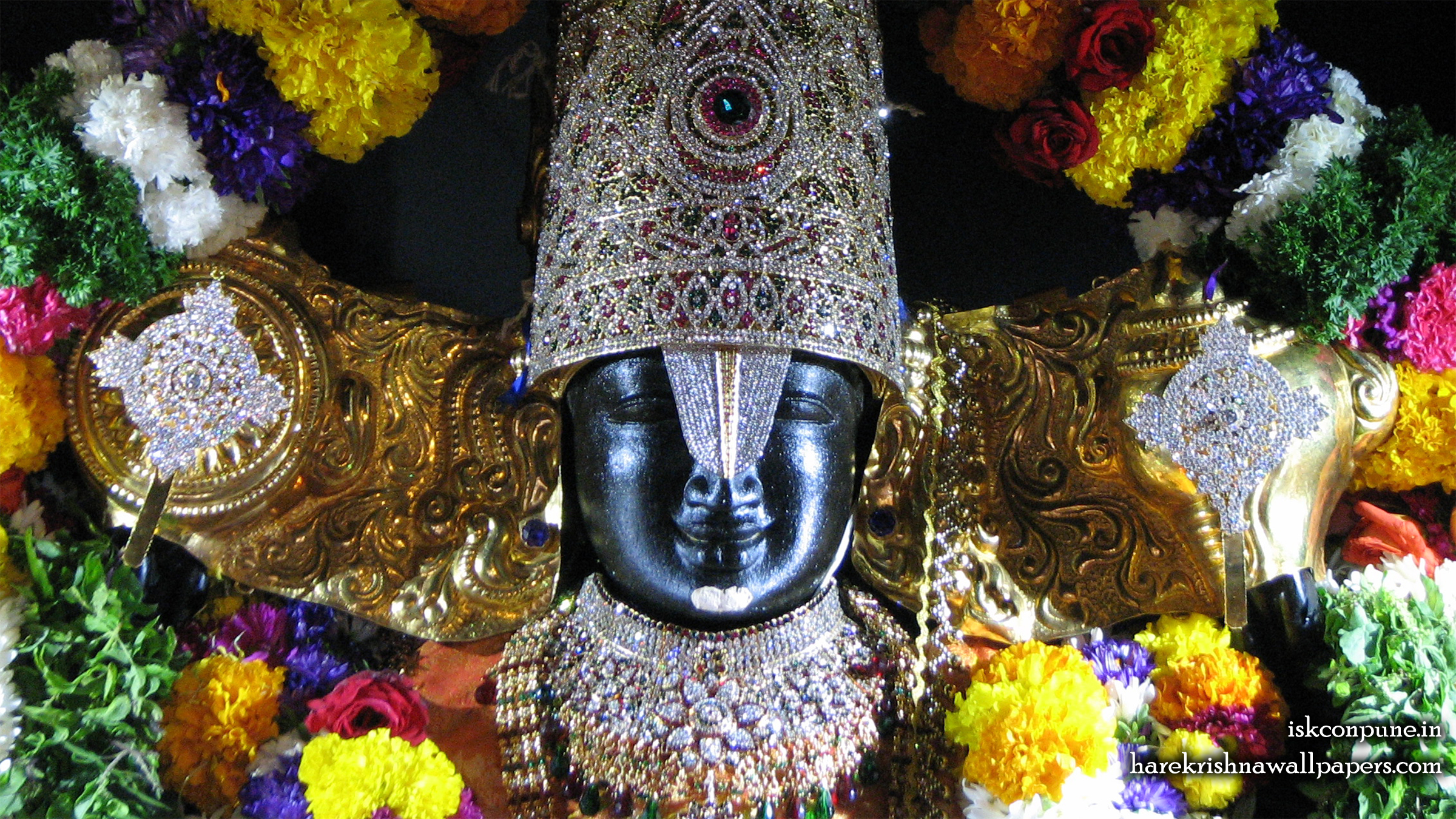 Sri Balaji Close up Wallpaper (004) Size 2400x1350 Download