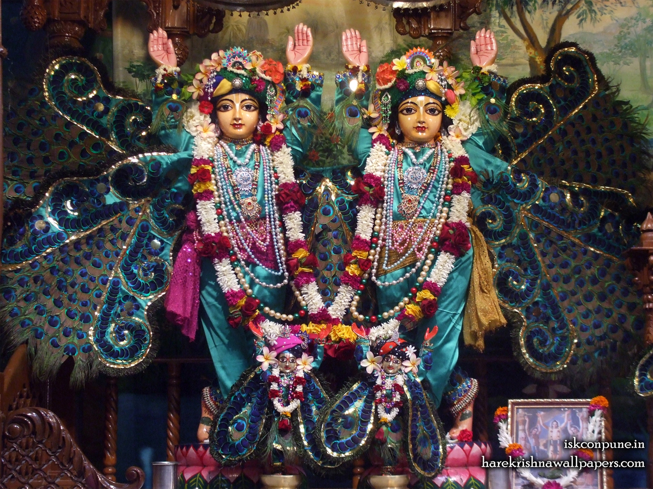 Sri Sri Gaura Nitai Wallpaper (004) Size 1280x960 Download