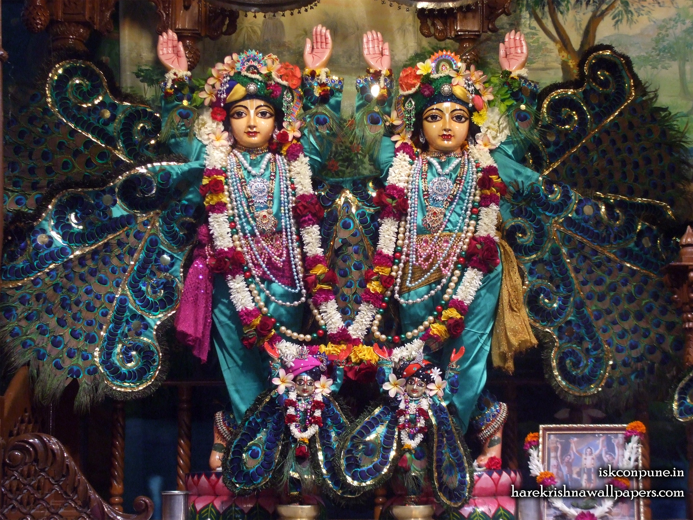 Sri Sri Gaura Nitai Wallpaper (004) Size 2400x1800 Download