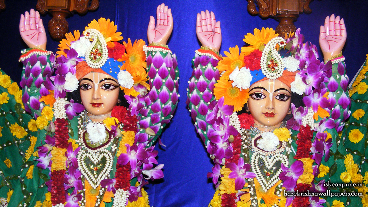 Sri Sri Gaura Nitai Close up Wallpaper (004) Size 1280x720 Download
