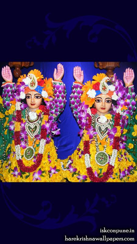 Sri Sri Gaura Nitai Close up Wallpaper (004) Size 450x800 Download