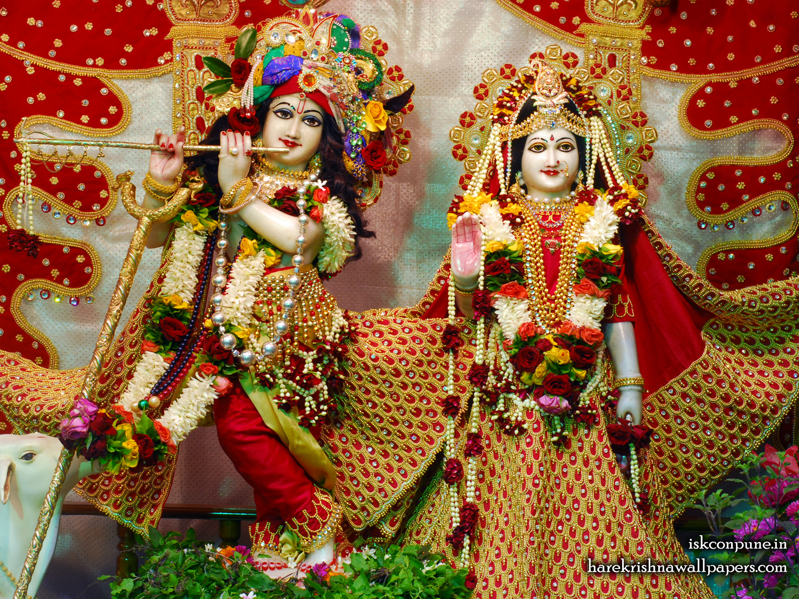 Sri Sri Radha Kunjabihari Wallpaper (004) Size1600x1200 Download