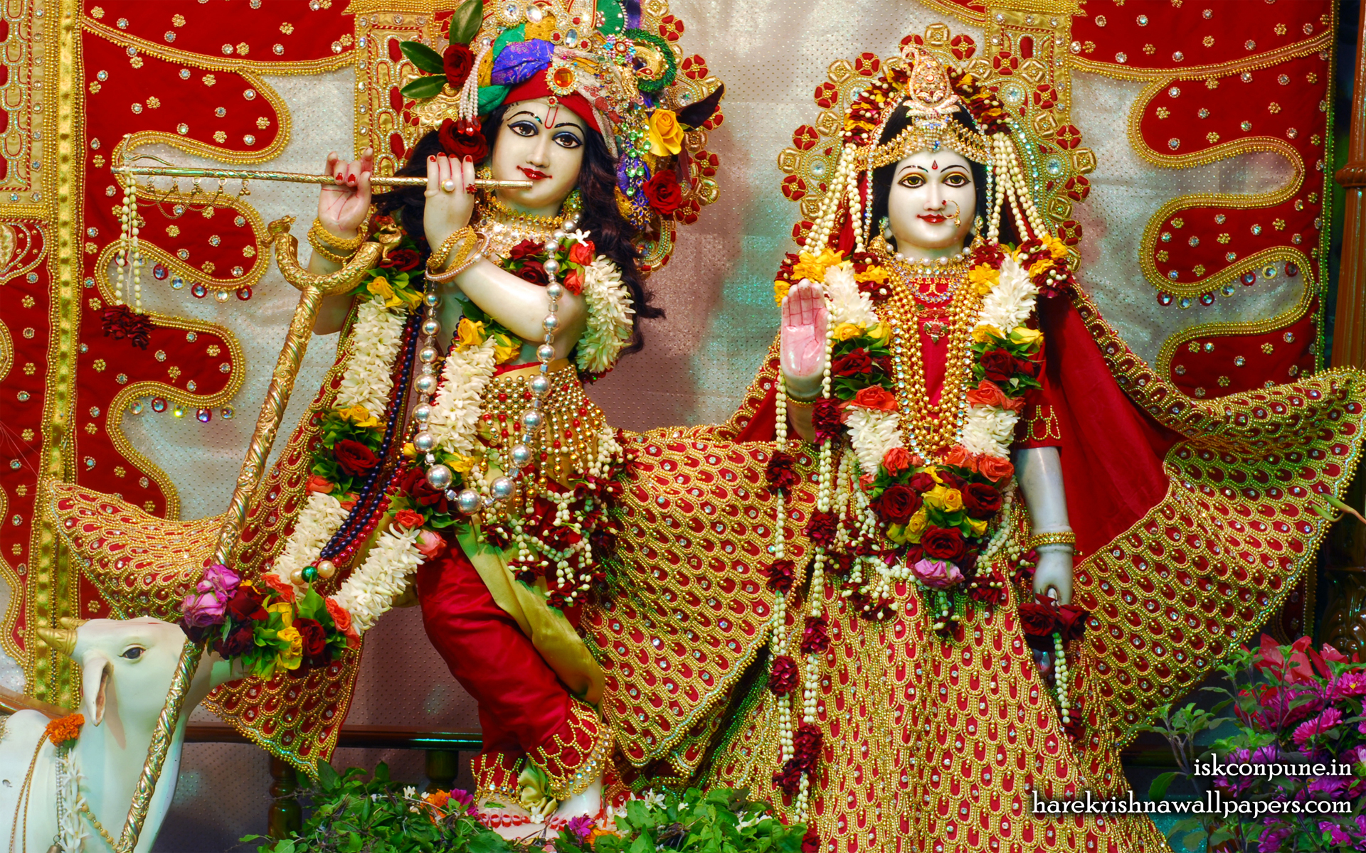 Sri Sri Radha Kunjabihari Wallpaper (004) Size 1920x1200 Download