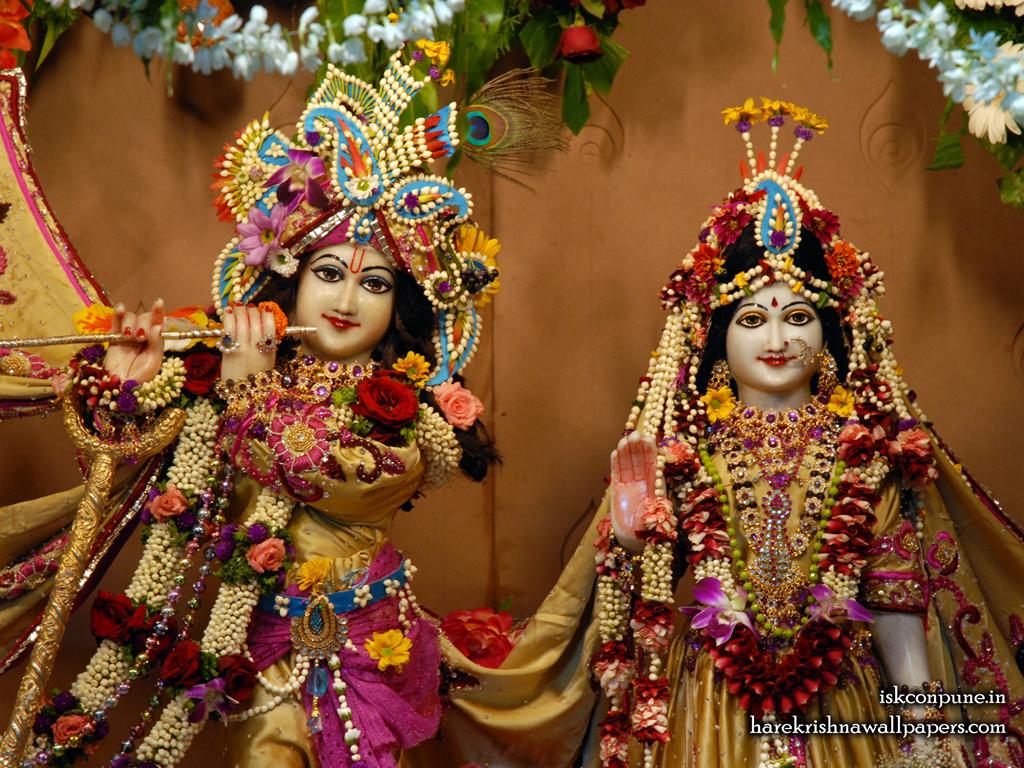 Sri Sri Radha Kunjabihari Close up Wallpaper (004) Size 1024x768 Download
