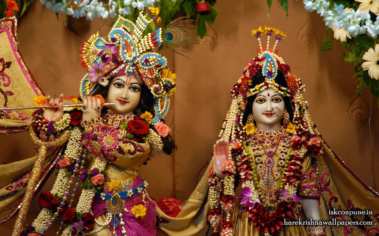 Sri Sri Radha Kunjabihari Close up Wallpaper (004) Size 1280x800 Download
