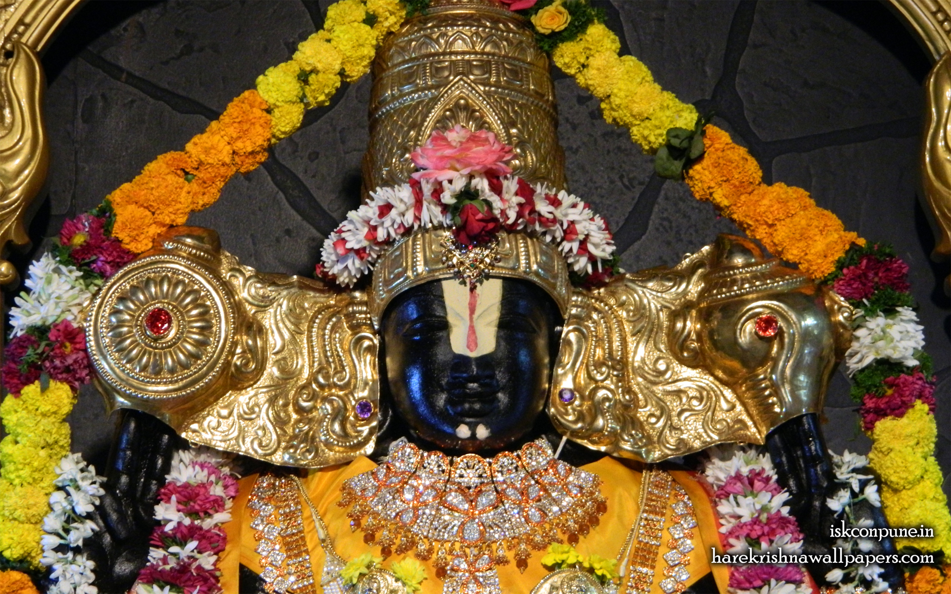 Sri Balaji Close up Wallpaper (005) Size 1920x1200 Download