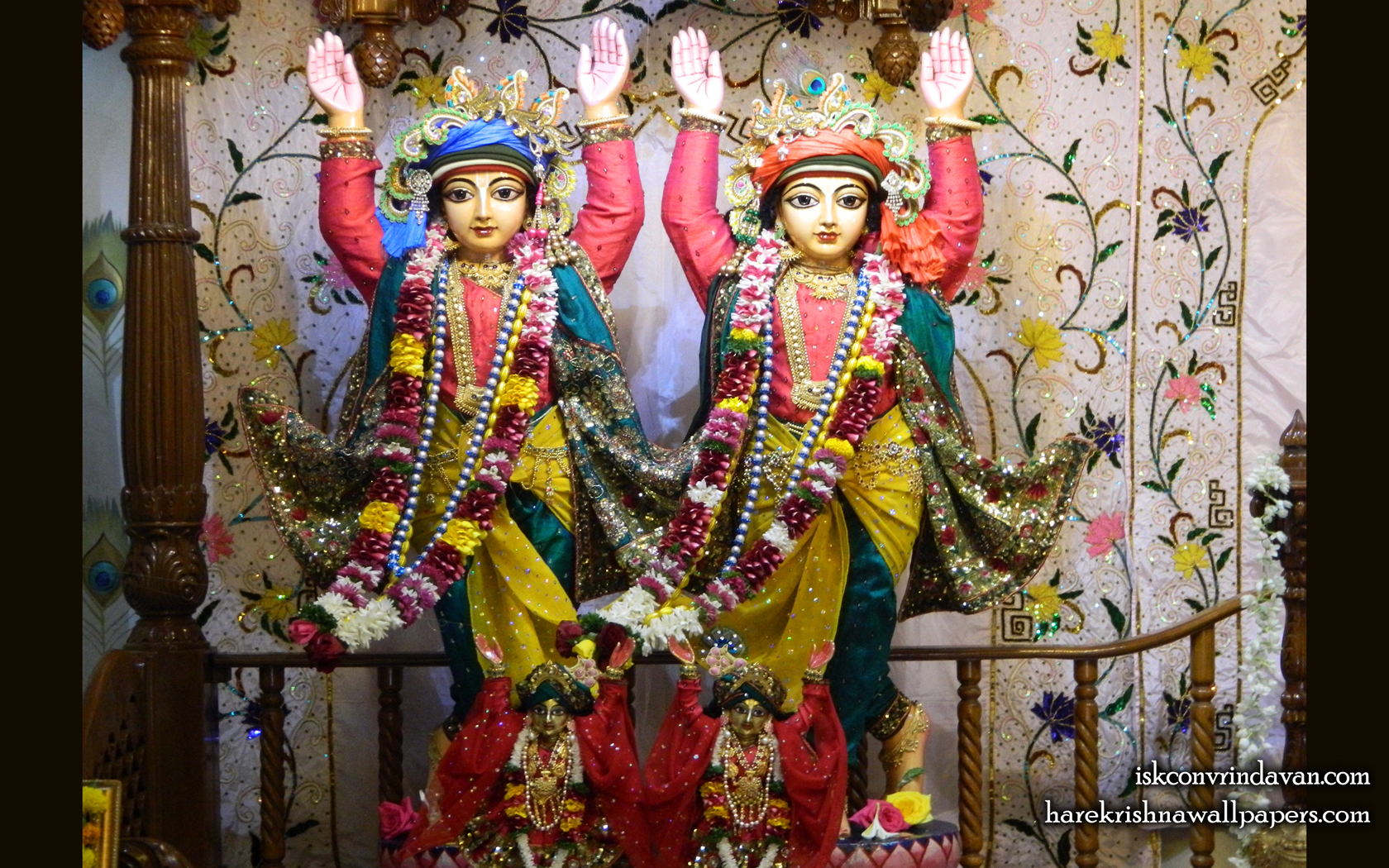 Sri Sri Gaura Nitai Wallpaper (005) Size 1680x1050 Download