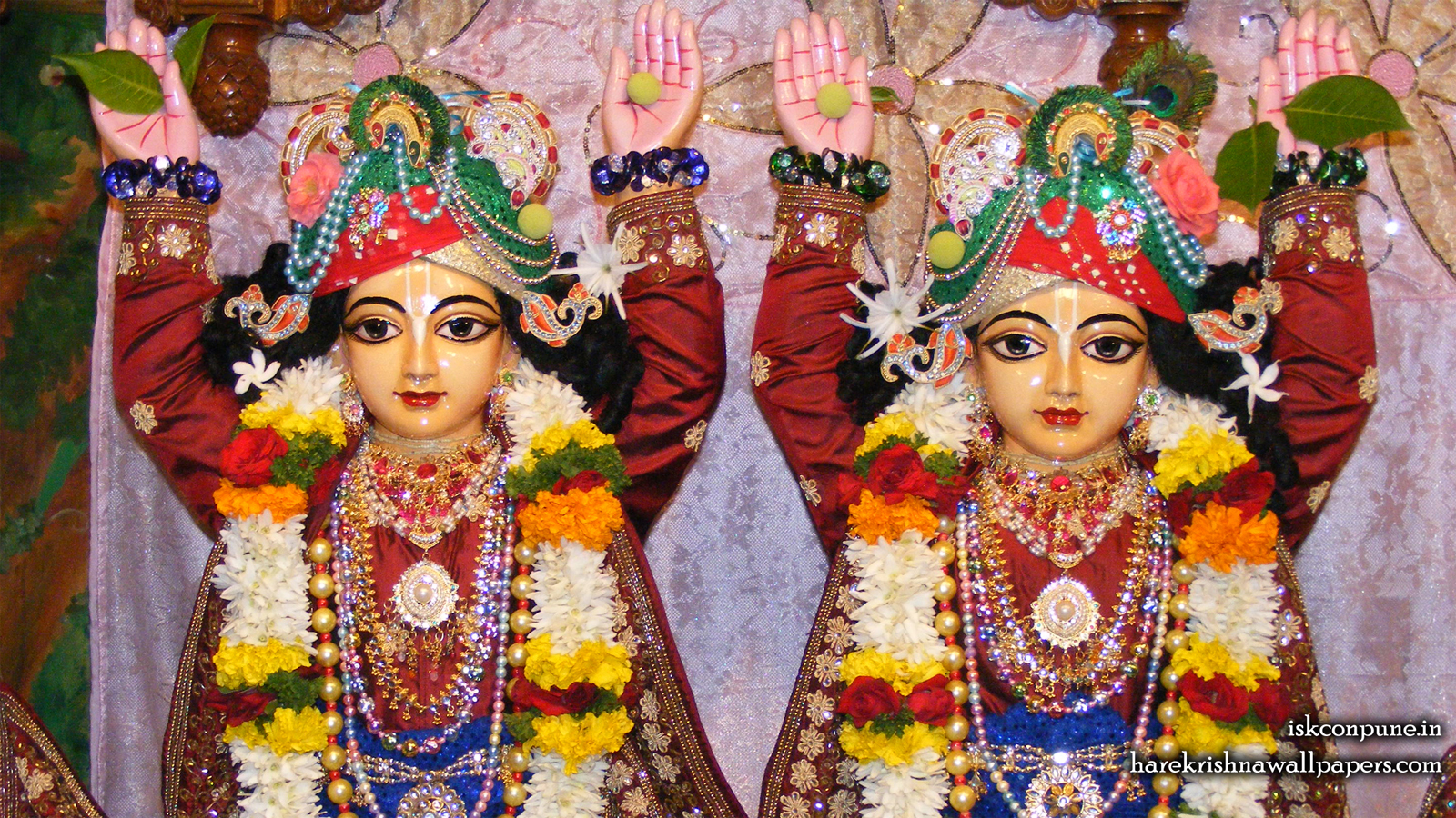 Sri Sri Gaura Nitai Close up Wallpaper (005) Size 1600x900 Download