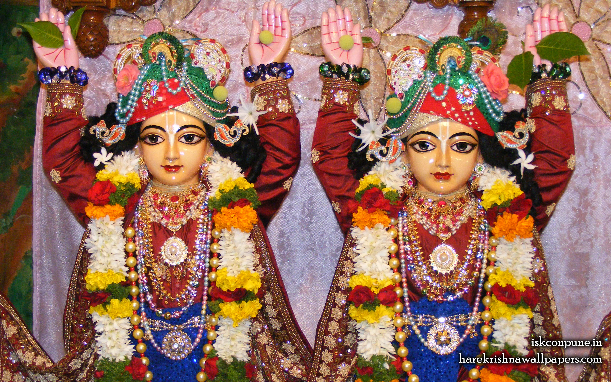 Sri Sri Gaura Nitai Close up Wallpaper (005) Size 2560x1600 Download