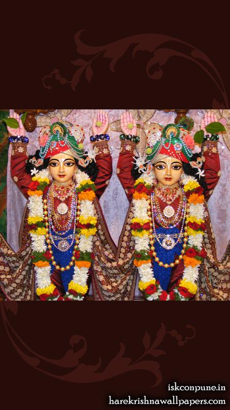 Sri Sri Gaura Nitai Close up Wallpaper (005) Size 450x800 Download