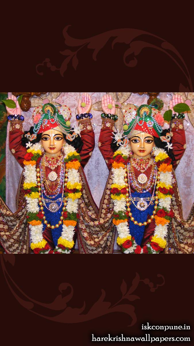 Sri Sri Gaura Nitai Close up Wallpaper (005) Size 675x1200 Download