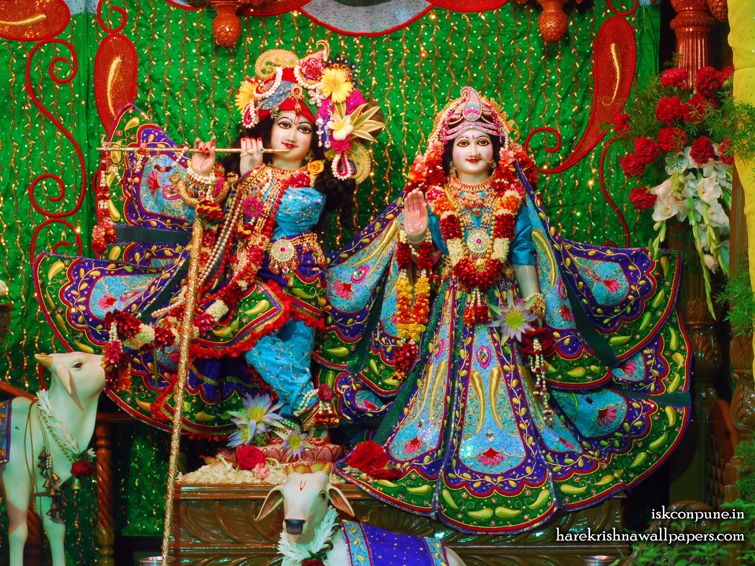 Sri Sri Radha Kunjabihari Wallpaper (005) Size 2400x1800 Download