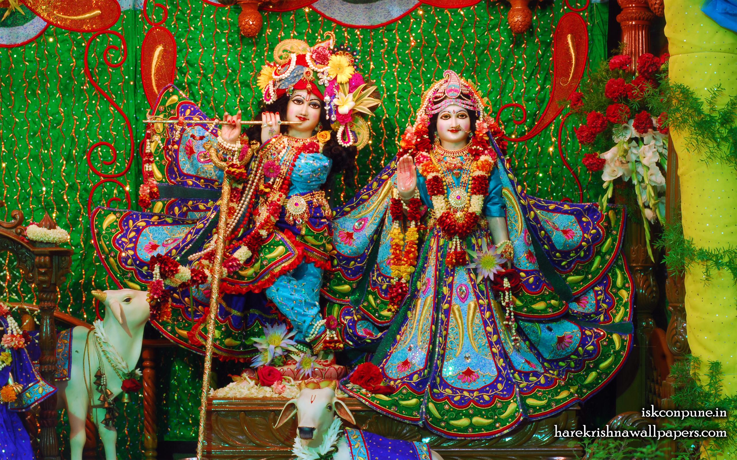 Sri Sri Radha Kunjabihari Wallpaper (005) Size 2560x1600 Download