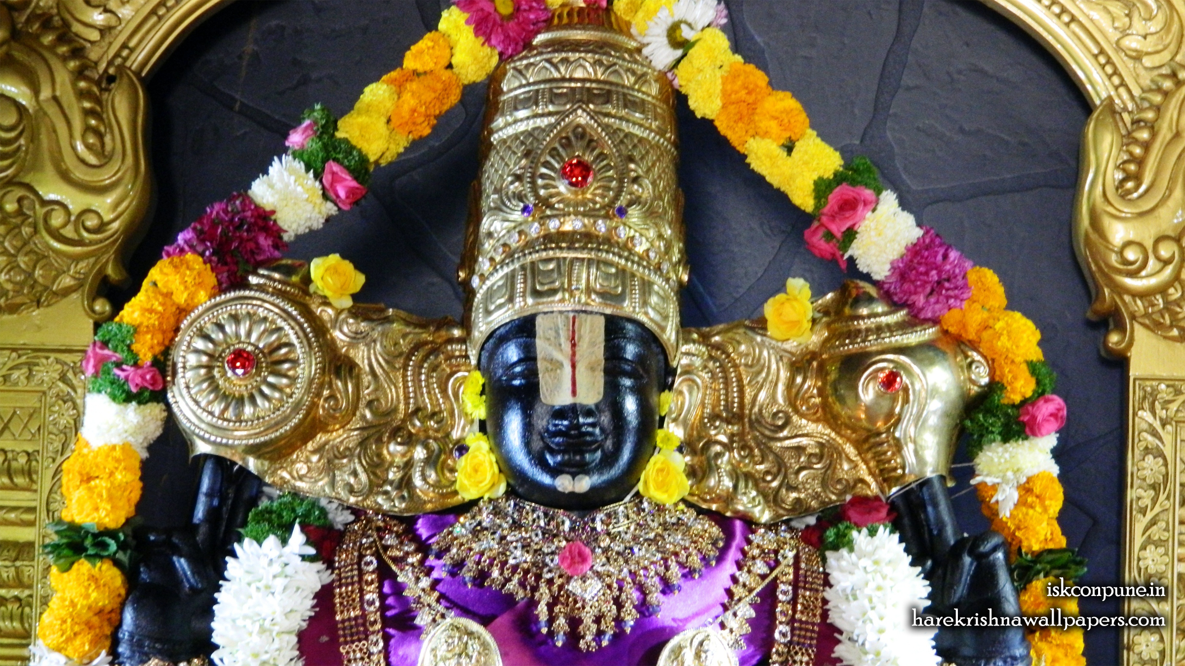 Sri Balaji Close up Wallpaper (006) Size 2400x1350 Download