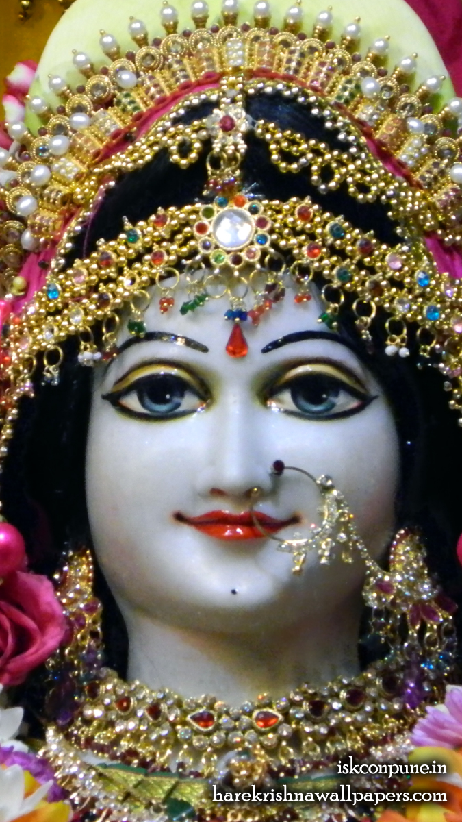 Sri Radha Close up Wallpaper (006) Size 675x1200 Download