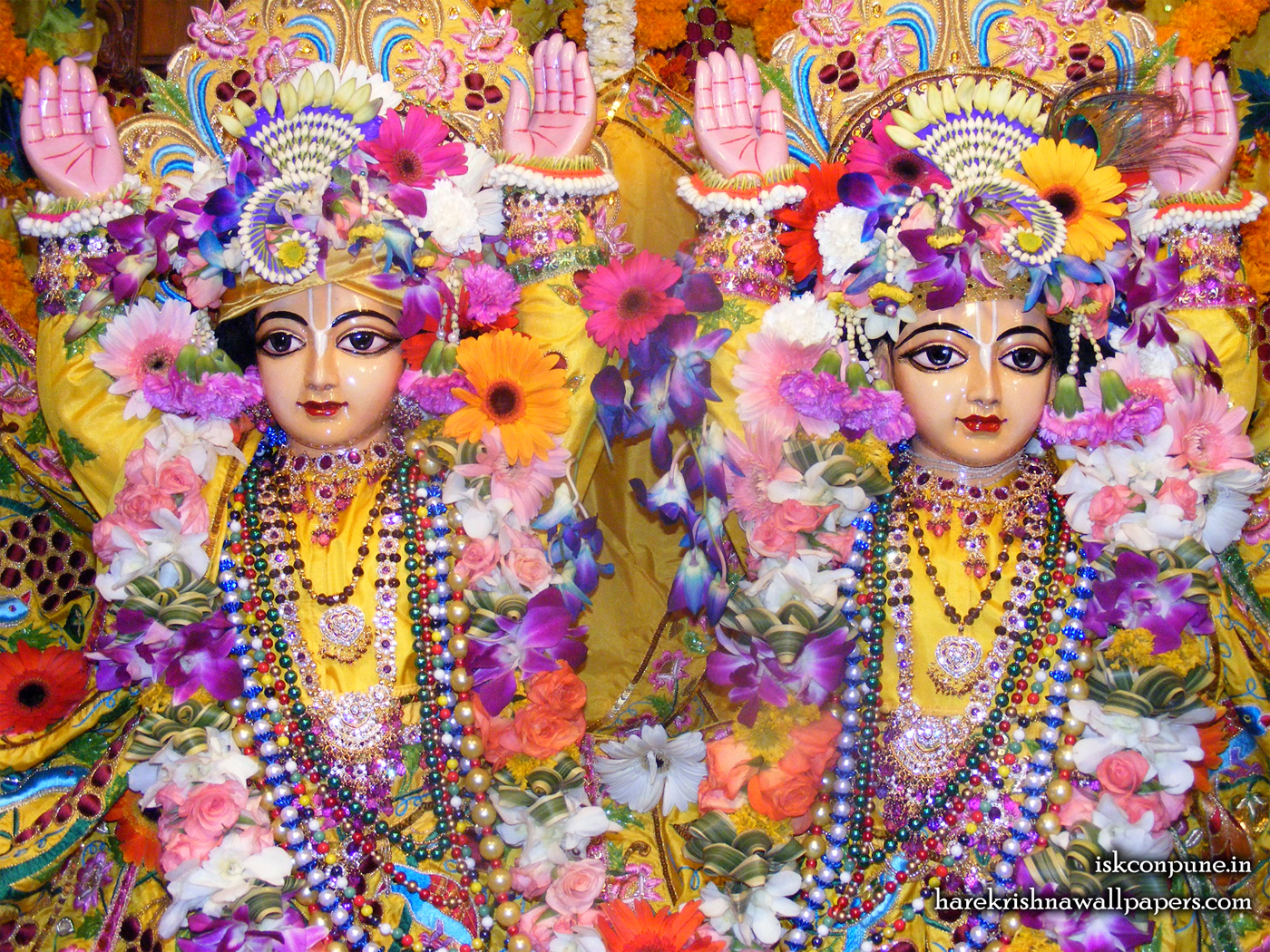 Sri Sri Gaura Nitai Close up Wallpaper (006) Size 1400x1050 Download