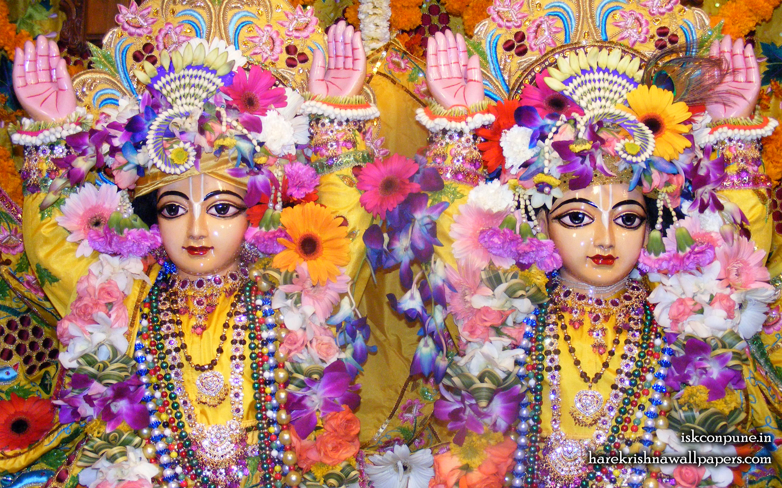 Sri Sri Gaura Nitai Close up Wallpaper (006) Size 2560x1600 Download