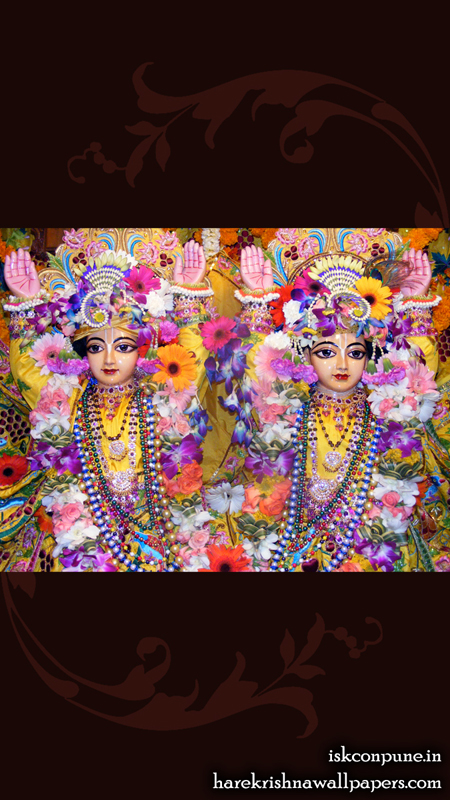 Sri Sri Gaura Nitai Close up Wallpaper (006) Size 450x800 Download