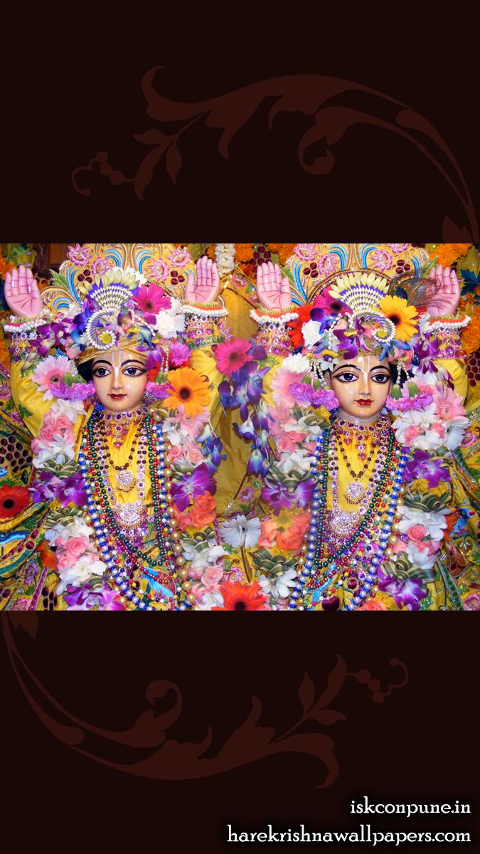 Sri Sri Gaura Nitai Close up Wallpaper (006) Size 675x1200 Download