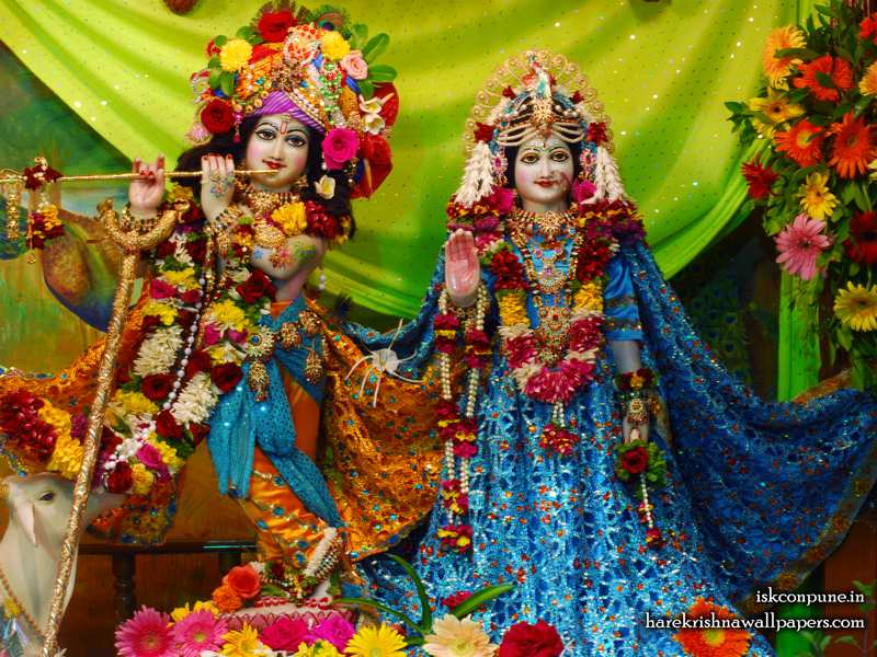 Sri Sri Radha Kunjabihari Wallpaper (006)