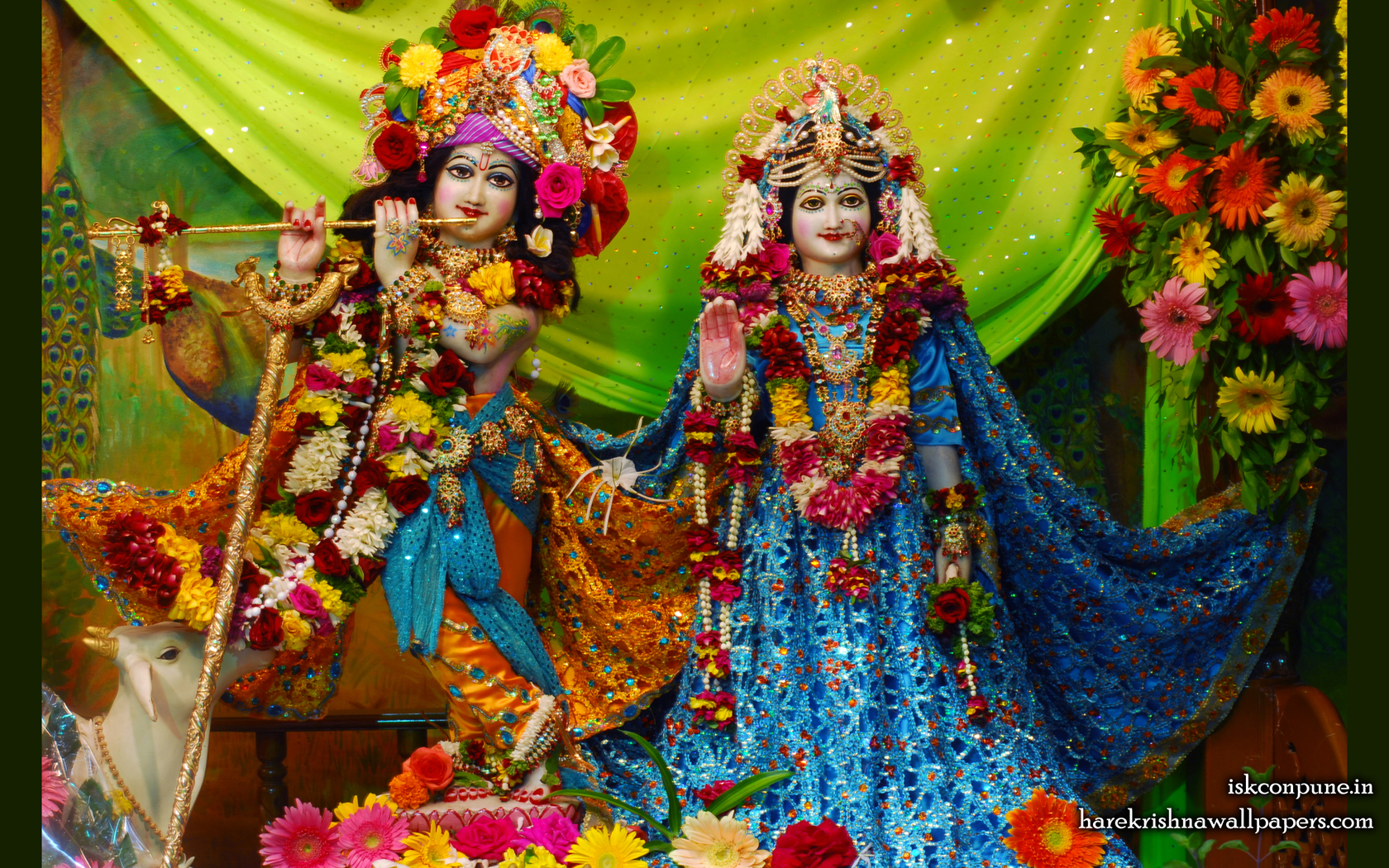 Sri Sri Radha Kunjabihari Wallpaper (006) Size 1680x1050 Download