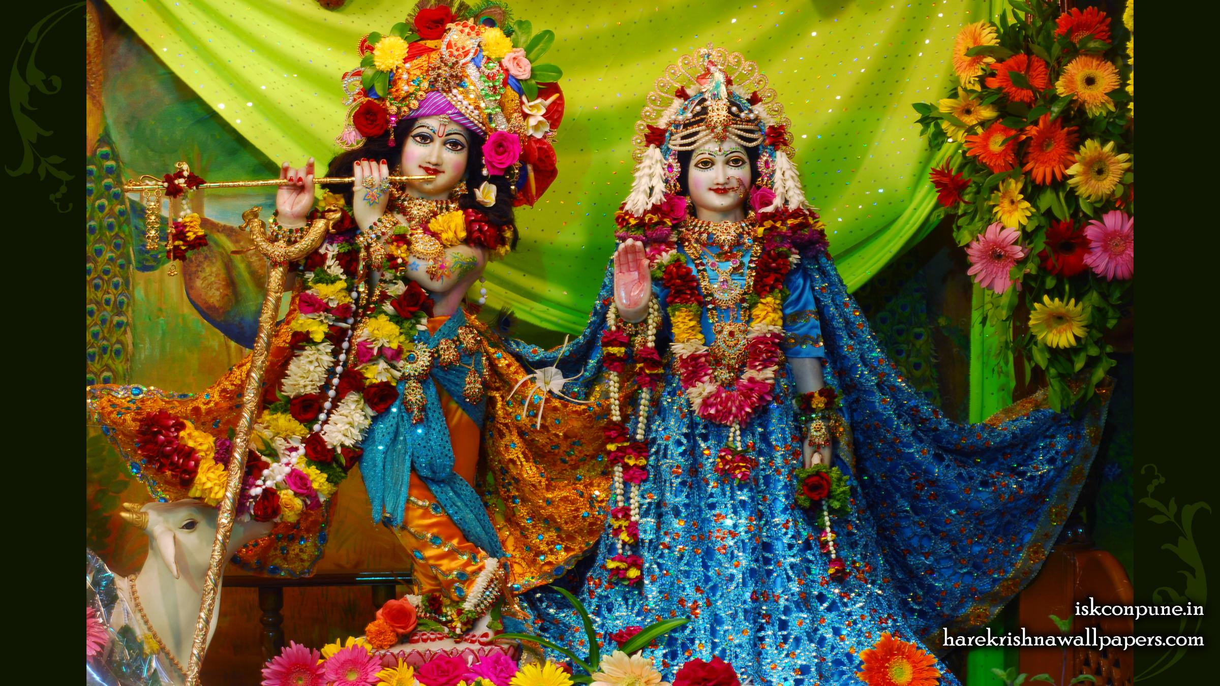 Sri Sri Radha Kunjabihari Wallpaper (006) Size 2400x1350 Download
