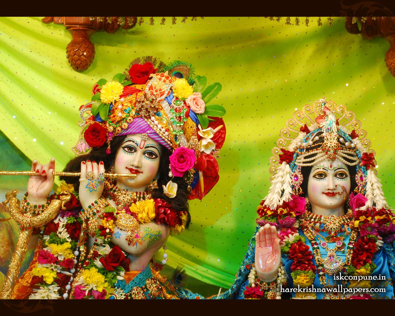 Sri Sri Radha Kunjabihari Close up Wallpaper (006) Size 1280x1024 Download