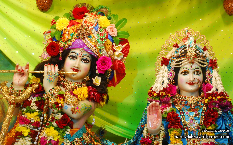 Sri Sri Radha Kunjabihari Close up Wallpaper (006) Size 1440x900 Download