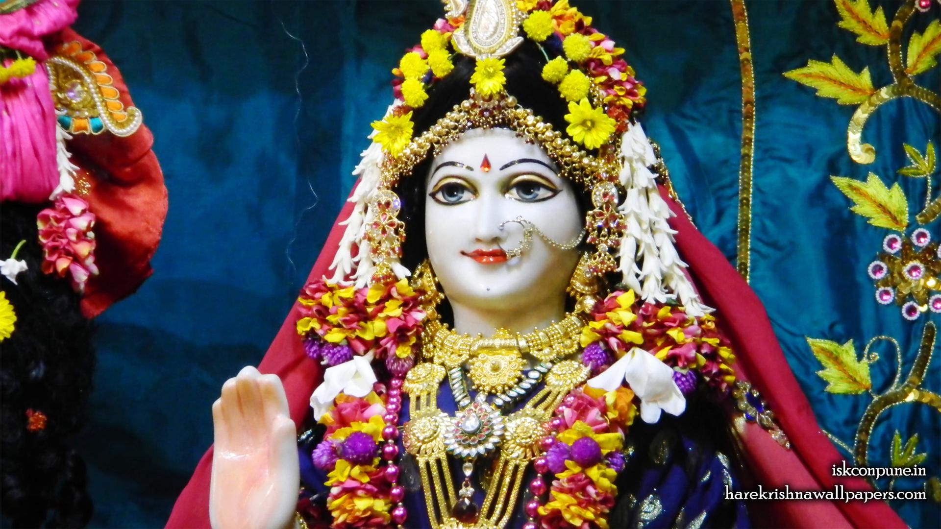 Sri Radha Close up Wallpaper (007) Size 1920x1080 Download