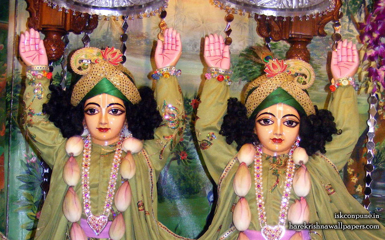 Sri Sri Gaura Nitai Close up Wallpaper (007) Size 1280x800 Download