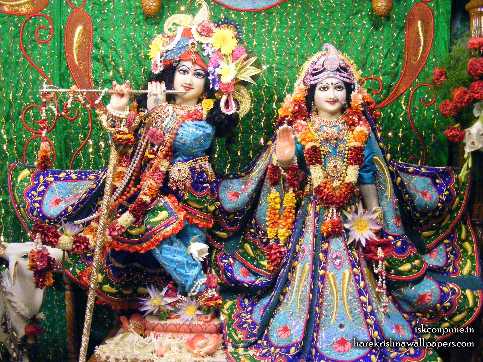 Sri Sri Radha Kunjabihari Wallpaper (007) Size 1920x1440 Download