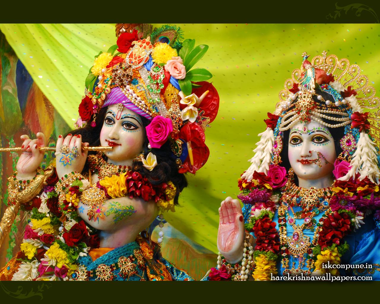 Sri Sri Radha Kunjabihari Close up Wallpaper (007) Size 1280x1024 Download