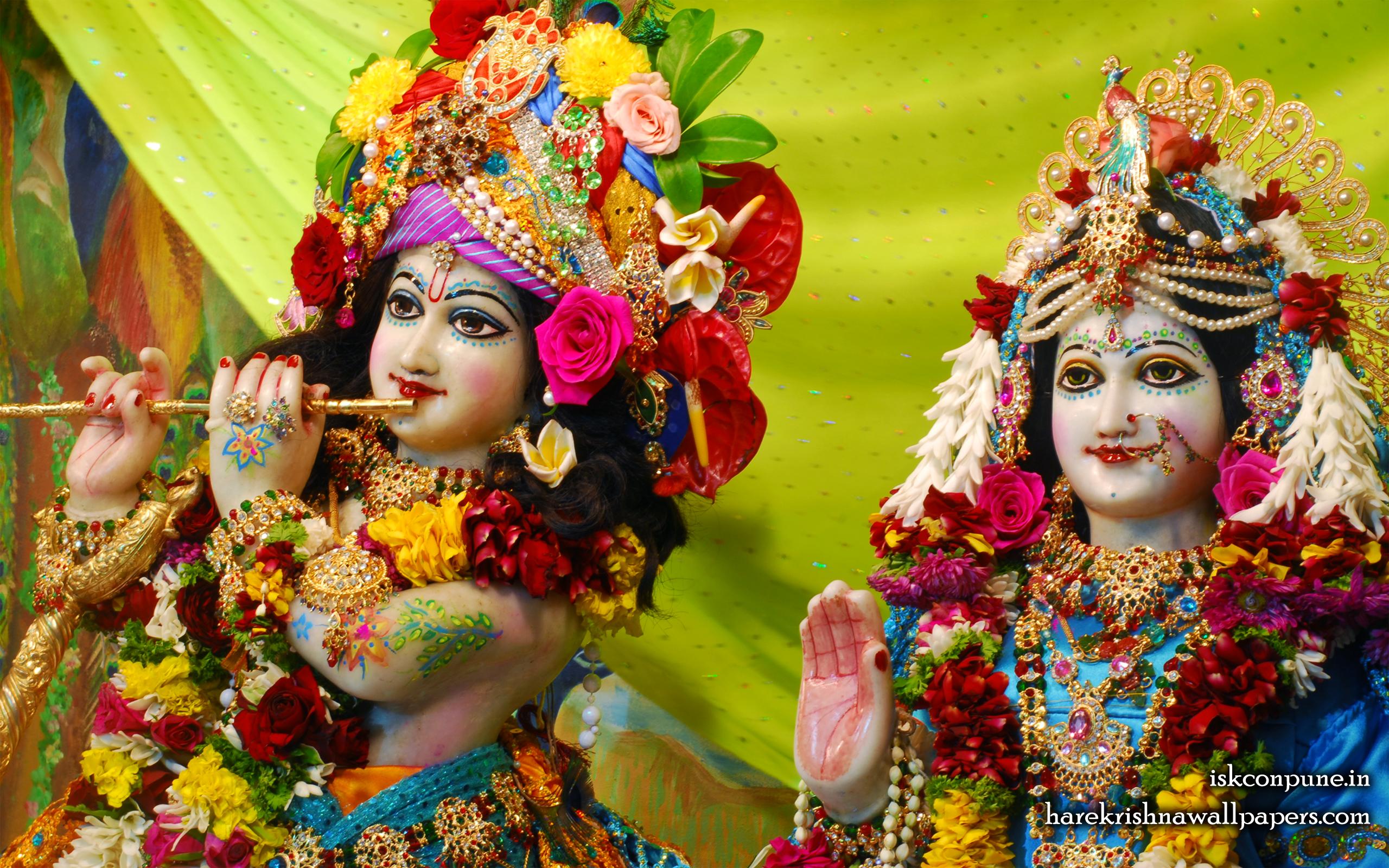 Sri Sri Radha Kunjabihari Close up Wallpaper (007) Size 2560x1600 Download