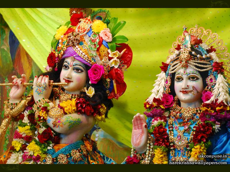 Sri Sri Radha Kunjabihari Close up Wallpaper (007) Size 800x600 Download