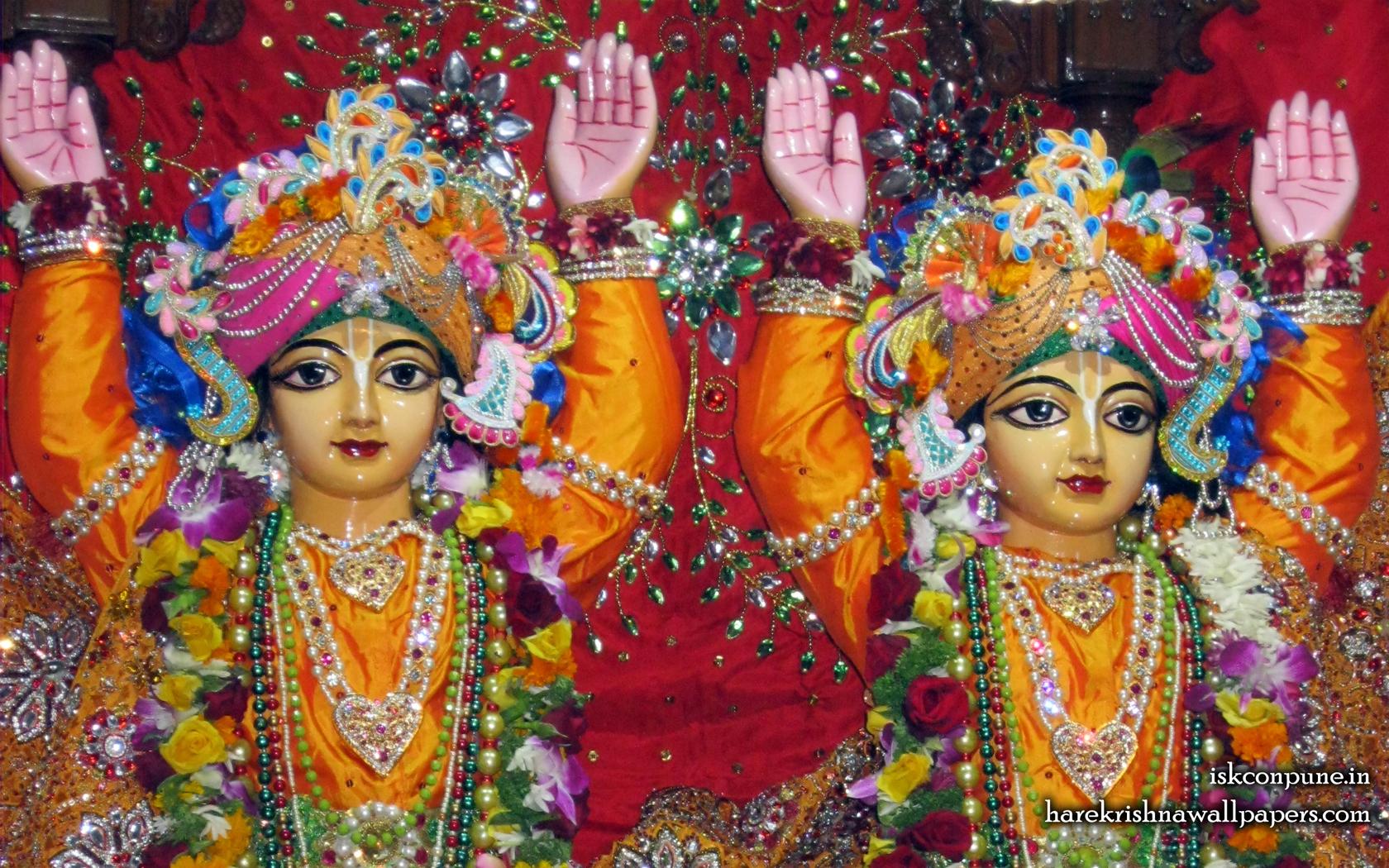 Sri Sri Gaura Nitai Close up Wallpaper (008) Size 1680x1050 Download
