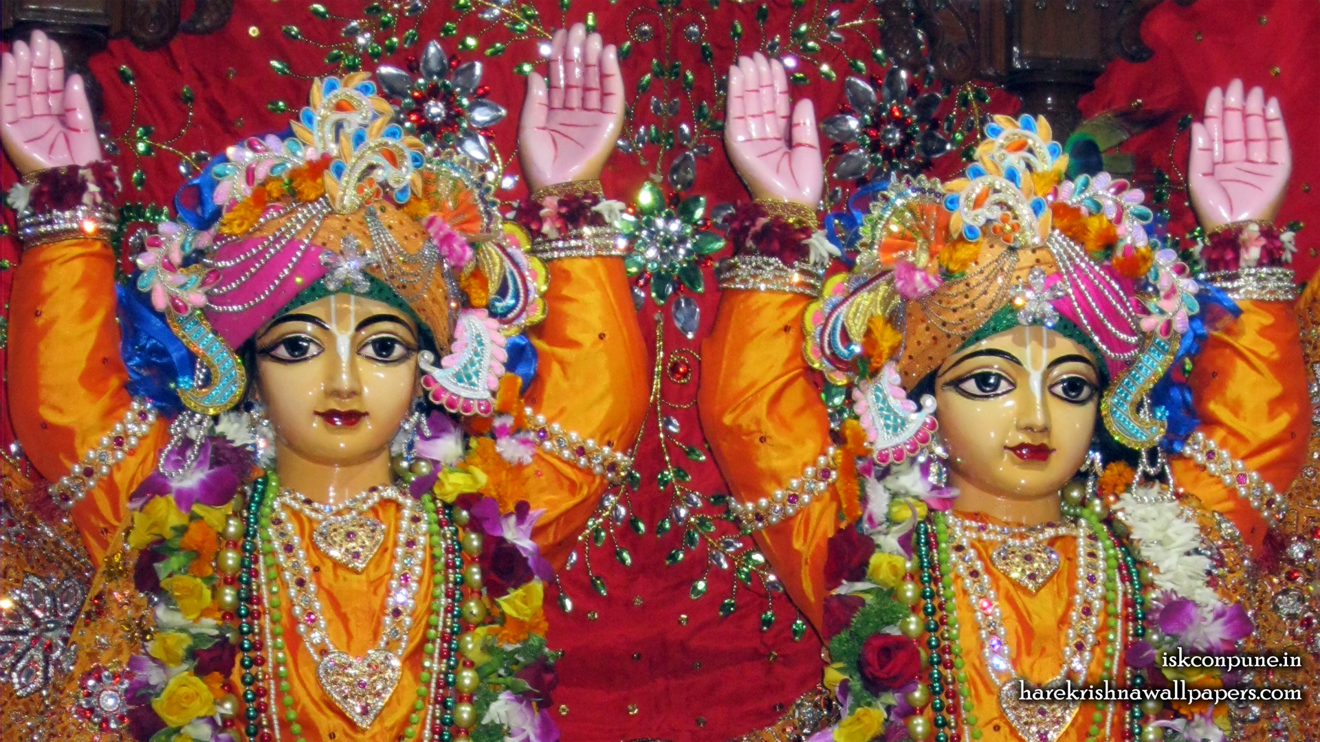 Sri Sri Gaura Nitai Close up Wallpaper (008) Size 1920x1080 Download