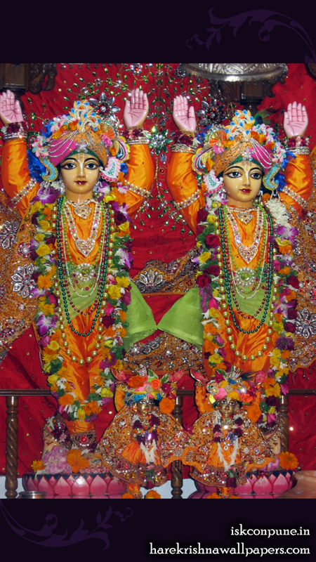 Sri Sri Gaura Nitai Close up Wallpaper (008) Size 450x800 Download